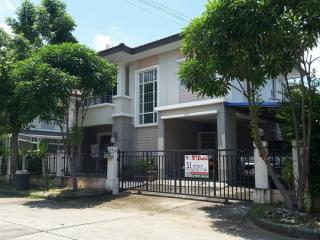 01245, ขาย บ้านเดี่ยว 2 ชั้น เนื้อที่ 51.3 ตรว. หมู่บ้าน พฤกษาวิลเลจ 29 (พหลโยธิน - รังสิต-นครนายก)