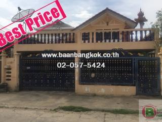 01279, ขาย บ้านเดี่ยว 2 ชั้น เนื้อที่ 45 ตรว. หมู่บ้าน รัตนโกสินทร์ 200 ปี  (รังสิต-ปทุมธานี)