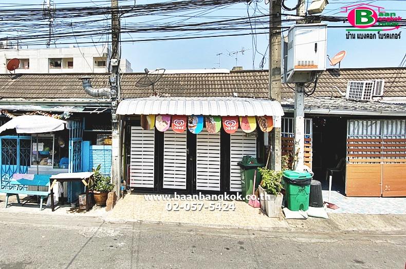 ขาย ทาวน์เฮาส์พร้อมกิจการ (ร้านไอศกรีม) 1 ชั้น เนื้อที่ 25 ตรว. มี 2 ห้องนอน 1 ห้องน้ำ 1 ห้องครัว โครงการ บ้านร่มไทร ถนนเสรีไทย เขตบางกะปิ จ.กรุงเทพมหานคร