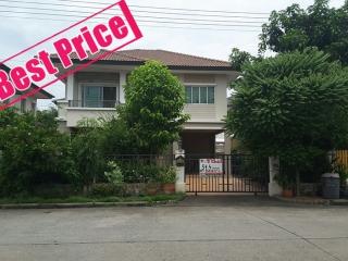 01271, ขาย บ้านเดี่ยว 2 ชั้น เนื้อที่ 54.4 ตรว. หมู่บ้าน พฤกษาวิลเลจ 29 (รังสิต-คลอง 3)