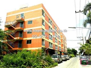 01296, ขาย อพาร์ทเมนท์ 5 ชั้น มี 2 อาคาร เนื้อที่ 200 ตรว. ซอย บัญชา-ปราณี (รังสิต-คลอง 6 ) ใกล้เทคโนโลยีราชมงคล ทำเลดีมาก