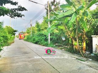 03391, ที่ดินเปล่า โครงการ รัชมา ทรอปิคาน่า เนื้อที่ 55.1 ตรว. ถนนลำลูกกา ปทุมธานี