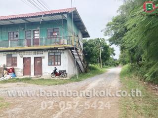 01401, ขาย ที่ดิน+บ้าน+ห้องเช่า เนื้อที่ 20 ไร่ ถนน อยุธยา-สุพรรณบุรี อ.เสนา จ.อยุธยา