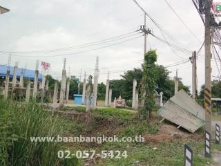 01362, ขาย ที่ดิน+แบบปลูกสร้าง ติดถนน พหลโยธิน ใกล้โรงเรียนวังน้อยพนมยงค์ (พหลโยธิน-ธัญบุรี)