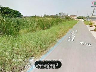 01299, ขาย ที่ดินเปล่าติดถนน ถมแล้ว เนื้อที่ 362 ตรว. ซอย บางแวก 91 (ซอย ทวีทอง 2) แปลงสวยมาก ทำเลดี