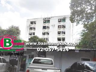 01943, ขาย อพาร์ทเม้นท์ 6 ชั้น เนื้อที่ 199 ตรว. มี 66 ห้องนอน 66 ห้องน้ำ 1 ห้องครัว ซ.โชคชัย4 ถนนลาดพร้าว เขตลาดพร้าว จ.กรุงเทพมหานคร