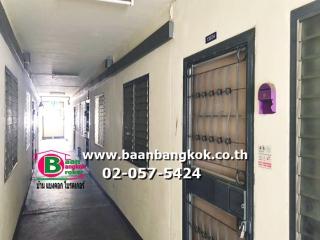 02209, ขาย คอนโดมิเนียม ชั้น 4 เนื้อที่ 33 ตรม. มี 1 ห้องนอน 1 ห้องน้ำ 1 ห้องซักล้าง โครงการ เอื้ออาทร บางคูวัด ถนนปทุมธานี อ.เมือง จ.ปทุมธานี