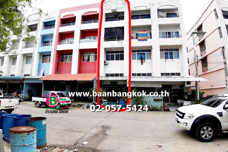 ขาย อาคารพาณิชย์+กิจการ  สูง 4 ชั้นครึ่ง โครงการ นวไทย ถนนพหลโยธิน เขตคลองหลวง ปทุมธานี