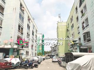 2159, ขาย คอนโดมิเนียม สูง 5 ชั้น อยู่ชั้นที่ 1 พร้อมอยู่ เนื้อที่ 24.5 ตรม. มี 1 ห้องน้ำ โครงการ ราชพฤกษ์เเมนชั่น ถนนงามวงศ์วาน อ.เมือง จ.นนทบุรี