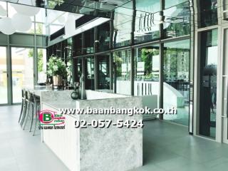02466, ขาย คอนโดมิเนียม สูง 37 ชั้น อยู่ชั้นที่ 26 เนื้อที่ 30.5 ตรม. มี 1 ห้องนอน 1 ห้องครัว 1 ห้องรับเเขก 1 ห้องน้ำ โครงการ วิสซ์ดอม สเตชั่น รัชดา-ท่าพระ เขตธนบุรี จ.กรุงเทพมหานคร