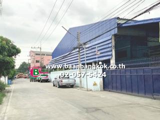 2574, ขาย โรงงานทำขนมบิสกิต,สเน็คพร้อมเครื่องจักร เนื้อที่ 972 ตรว. ถนนรังสิต-นครนายก 79 อ.ธัญบุรี จ.ปทุมธานี