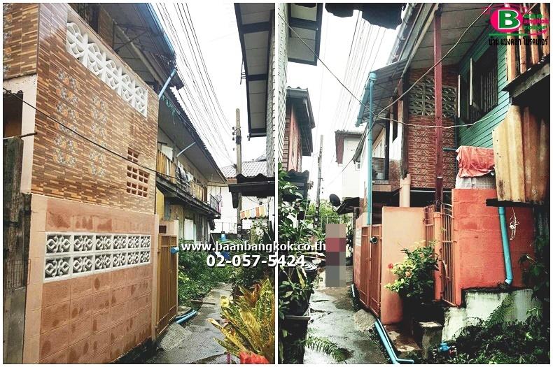 ที่ดิน+บ้านเดี่ยวครึ่งปูนครึ่งไม้ 2 ชั้น เนื้อที่ 17 ตรว. มี 2 ห้องนอน 2 ห้องน้ำ 1 ห้องครัว ซ.สรงประภา 1 เเยก 4-3 ถนนวิภาวดีรังสิต เขตบางเขน จ.กรุงเทพมหานคร