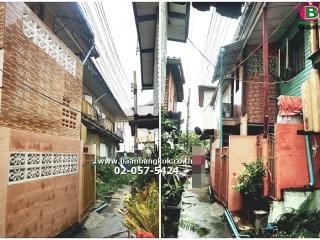 2691, ที่ดิน+บ้านเดี่ยวครึ่งปูนครึ่งไม้ 2 ชั้น เนื้อที่ 17 ตรว. มี 2 ห้องนอน 2 ห้องน้ำ 1 ห้องครัว ซ.สรงประภา 1 เเยก 4-3 ถนนวิภาวดีรังสิต เขตบางเขน จ.กรุงเทพมหานคร