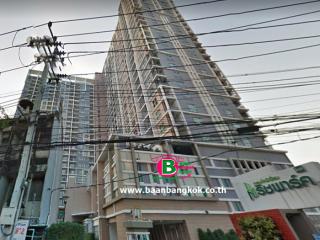 03341, คอนโดมิเนียม โครงการ ริชพาร์ค@บางซ่อน สูง 27 ชั้น อยู่ชั้นที่ 19 เนื้อที่ 31.67 ตรม. มี 1 นอน 1 น้ำ ถนนวงศ์สว่าง เขตบางซื่อ