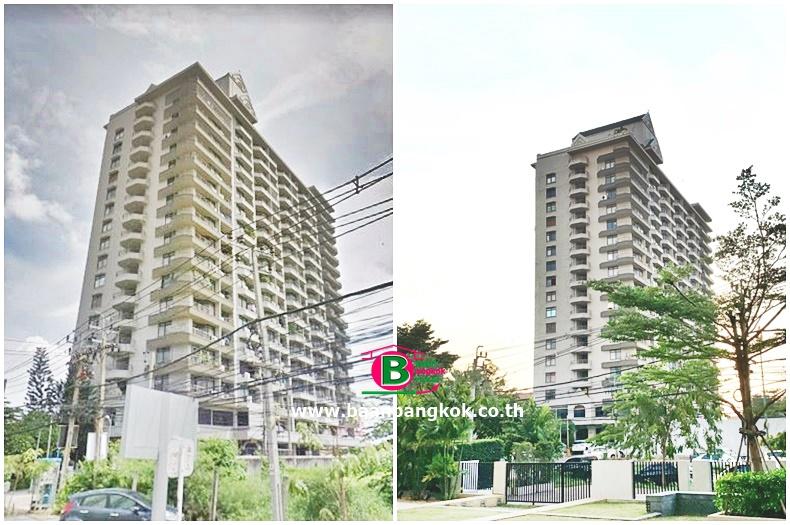 ขาย/ให้เช่า คอนโดมิเนียม สูง 19 ชั้น อยู่ชั้นที่ 2 โครงการ ธารารินทร์เจ้าพระยา ถนนรัตนาธิเบศร์ อ.เมือง จ.นนทบุรี