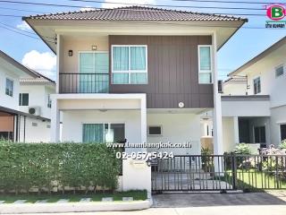 2583, ขาย บ้านแฝด 2 ชั้น พร้อมอยู่ เนื้อที่ 35.7 ตรว. โครงการ แกรนด์ พลีโน่ สุขสวัสดิ์ 30 เขตราษฎร์บูรณะ