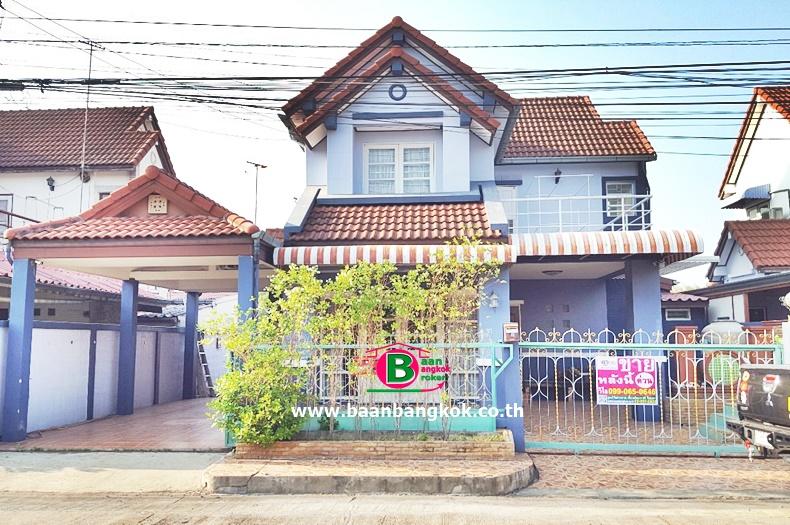 ขาย บ้านเดี่ยว โครงการ สราญธร คลองสี่ เนื้อที่ 51 ตรว. ธัญบุรี ปทุมธานี