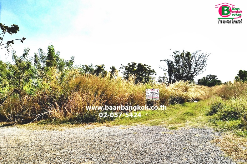 ที่ดินเปล่า สวนเกษตรบ้านคลองหลวง เฟส 2 คลอง 6 เนื้อที่ 200 ตรว. ถนนพหลโยธิน คลองหลวง ปทุมธานี