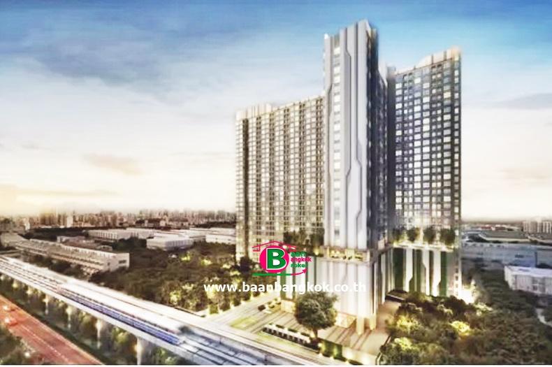 คอนโดมิเนียม โครงการ ไอดีโอ สาทร-ท่าพระ เนื้อที่ 21.63 ตรม. เป็นห้องสตูดิโอ ถนนกรุงธนบุรี ธนบุรี