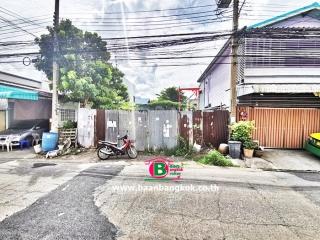 03389, ที่ดินถมเเล้ว ซอยสังคมสงเคราะห์ 28 เนื้อที่ 50 ตรว. ถนนลาดพร้าว บางกะปิ