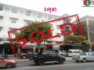 03501, อาคารพาณิชย์ 4 ชั้น (คูหาที่ 2-3) แยกไฟเเดงตลาดวงศกร เนื้อที่ 42 ตรว. มี 6 ห้องน้ำ ถนนสายไหม เขตสายไหม
