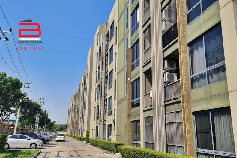 คอนโดมิเนียม โครงการ เดอะ ทรี พริวาต้า สูง 5 ชั้น อยู่ชั้นที่ 5 เนื้อที่ 27.03 ตรม. มี 1 นอน 1 น้ำ ถนนประชาราษฎร์สาย 1 เขตบางซื่อ