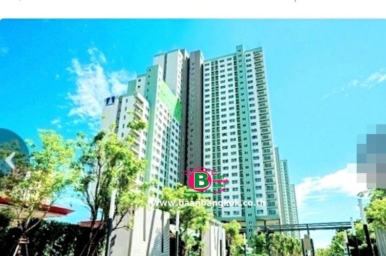 คอนโดมิเนียม โครงการ ลุมพินี พาร์ค รัตนาธิเบศร์-งามวงศ์วาน สูง 30 ชั้น อยู่ชั้นที่ 19 เนื้อที่ 22.64 ตรม. มี 1 นอน 1 น้ำ ถนนรัตนาธิเบศร์ ซ.33 อ.เมือง จ.นนทบุรี
