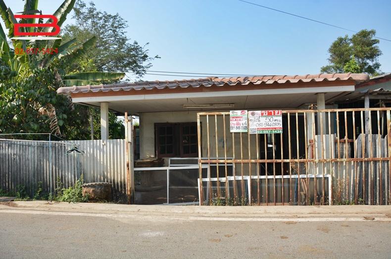 บ้านเดี่ยว 1 ชั้น ซอยเอราวัณ 10 เนื้อที่ 50 ตรว. มี 1 ห้องนอน 1 ห้องน้ำ ถนนคลองหลวง อ.คลองหลวง จ.ปทุมธานี