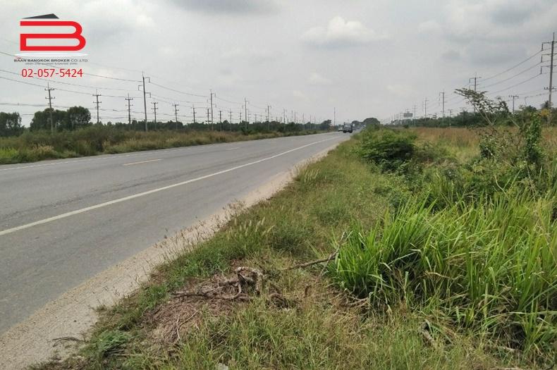 ที่ดินเปล่าแถมบ้าน ริมถนนสามโคก-เสนา(3111) เนื้อที่ 1 ไร่ ถนนสามโคก-เสนา(3111) อ.บางไทร จ.อยุธยา
