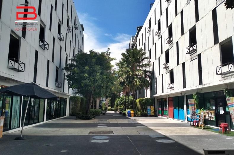 คอนโดมิเนียม ห้องมุม โครงการ ไอคอนโด สุขุมวิท 105-1 สูง 8 ชั้น อยู่ชั้นที่ 2 เนื้อที่ 47.73 ตรม. มี 2 นอน 2 น้ำ ถนนสุขุมวิท เขตบางนา