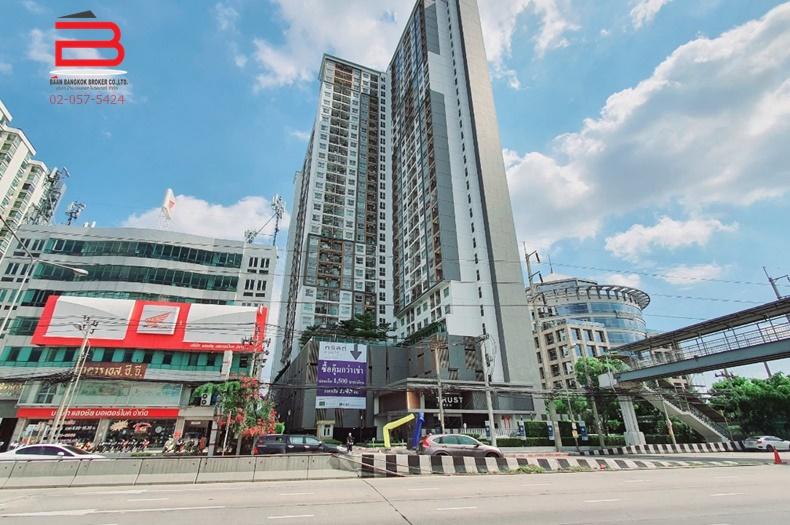 คอนโดมิเนียม โครงการ เดอะทรัสต์ งามวงศ์วาน สูง 32 ชั้น อยู่ชั้นที่ 9 เนื้อที่ 30.51 ตรม. มี 1 นอน 1 น้ำ ถนนงามวงศ์วาน อ.เมือง จ.นนทบุรี