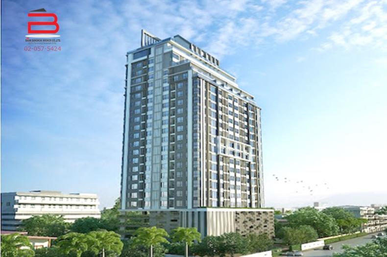 คอนโดมิเนียม โครงการ ไนท์บริดจ์ คอนโดมิเนียม สูง 25 ชั้น อยู่ชั้นที่ 7 เนื้อที่ 25.90 ตรม. มี 1 นอน 1 น้ำ ถนนแบริ่ง 6 อ.เมือง จ.สมุทรปราการ