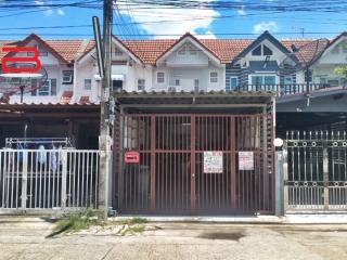 06615, ทาวน์เฮาส์ 2 ชั้น โครงการ แมกไม้ สายน้ำ เนื้อที่ 23 ตรว. มี 2 ห้องนอน 2 ห้องน้ำ ซอยศรีสมาน 6 ถนนศรีสมาน อ.ปากเกร็ด จ.นนทบุรี