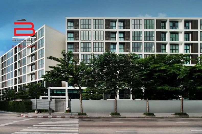 คอนโดมิเนียม โครงการ ไอดีโอ ลาดพร้าว 17 สูง 8 ชั้น อยู่ชั้นที่ 7 เนื้อที่ 62.7 ตรม. มี 2 นอน 2 น้ำ ถนนลาดพร้าว เขตจตุจักร