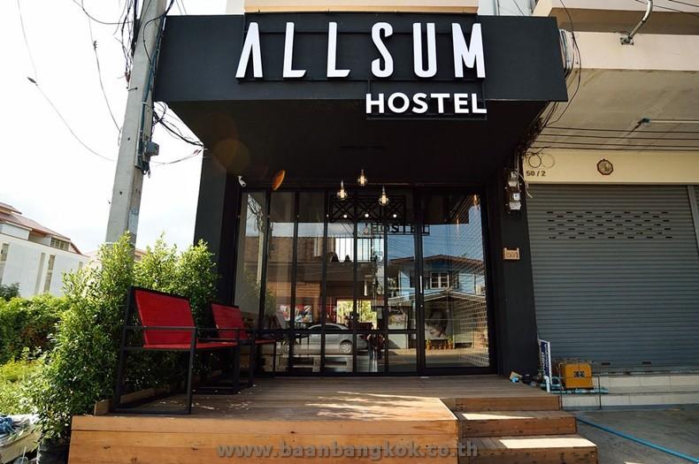 ขาย อาคารพาณิชย์ 3 ช้้น พร้อมกิจการห้องพัก เนื้อที่ 14 ตรว. ออลซัม โฮสเทล ซอยบัวหวาน ถนนราเมศวร จ.อยุธยา